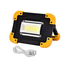 Outdoor Camping COB <b>4 Mode USB</b> Work Lights with 18650 ...