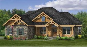 Craftsman House Plan   Bedrooms and   Baths   Plan