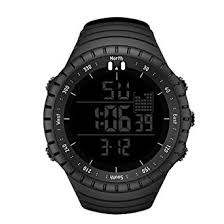 Men's Digital Sport Watch SENORS Electronic LED ... - Amazon.com