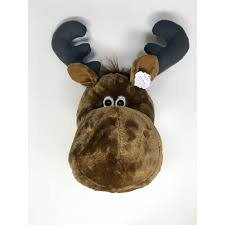 x plush wall: king max products whimsy moose plush wall dampeacutecor