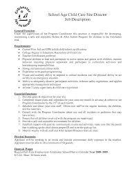 day care director resume   sales   director   lewesmrsample resume  child care director job description resume