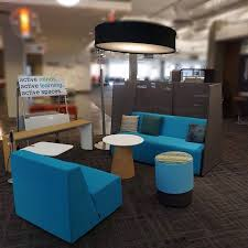 office lounge design. turnstone campfire lounge setting for the office in rgo space design