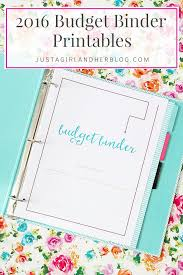 A beautiful  detailed free printable budget binder that will help you save more money and Pinterest