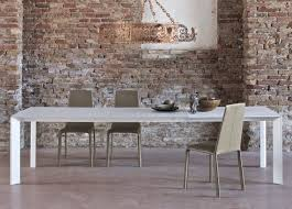cream compact extending dining table: bontempi genio extending dining table from a dimensions lcm cm
