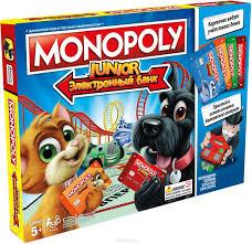 SALE* <b>Hasbro</b>. Games 1842121 Игра <b>Монополия Джуниор</b> с ...