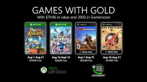 <b>New Games</b> with Gold for August <b>2020</b> - Xbox Wire