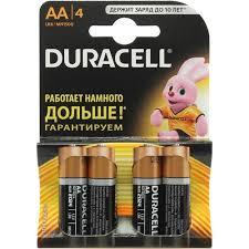 <b>Батарейки</b> AA <b>Duracell MN1500</b>-4 4 шт. — купить, цена и ...