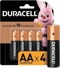 Купить AA <b>Батарейка DURACELL</b> Basic CN <b>LR6</b>-<b>4BL MN1500</b> в ...