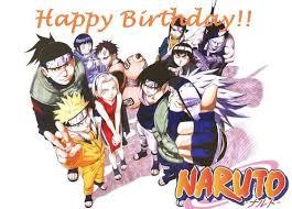 Anniversaire Naruto