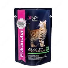 <b>Пауч Eukanuba Adult Cat</b> (Кролик в соусе), 85 г - Интернет ...