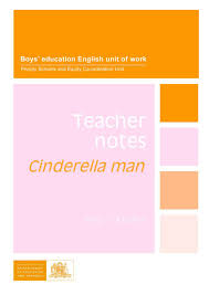 cinderella man teacher notes