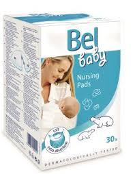 <b>Bel</b> Baby <b>Вкладыши в бюстгальтер</b> для кормящих мам, 30 шт ...