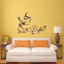 related post with aliexpresscom buy coffee cup with heart wall stickers diy home decor aliexpresscom buy office decoration diy wall