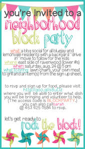 block party invitation template com how to throw a block party printable invitation template block party invitation samples block