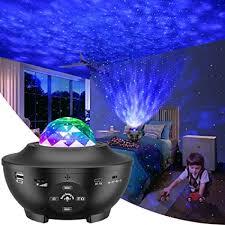 LBell Night Light Projector 3 in 1 Galaxy Projector Star ... - Amazon.com