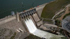 Image result for California reservoirs filling up picture