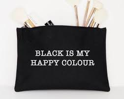 <b>Black is my happy</b> color | Etsy