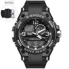 SMAEL Luxuly Мужские <b>наручные часы Gold</b> Digital Watch Man ...