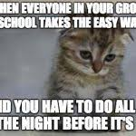Sad kitten Meme Generator - Imgflip via Relatably.com