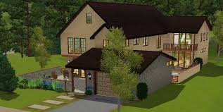 Mod The Sims       California Contemporary     bed house   office    Mod The Sims       California Contemporary     bed house   office  amp  bonus room