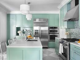 Turquoise Kitchen Inspiring White Wall Paint Color Ideas For Kitchen With Turquoise