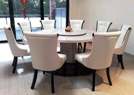 Dining Room Table And 8 Chairs Marble Top Round Dining Table And 8 Chairs With Sliding Glass