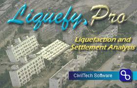 Software : Liquefaction and Settlement Analysis - CivilTech Software