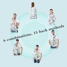 Ergonomic Baby Carrier Infant Kid Baby Sling Front Facing ...