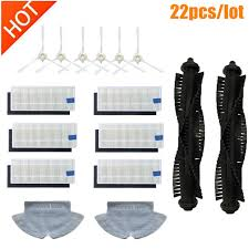 <b>360</b> S6 Robot Vacuum Cleaner Spare Parts <b>Side Brushes</b> HEPA ...