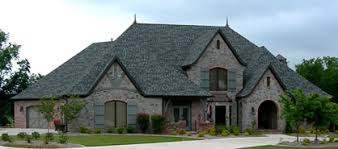 Two Story House Plans  Brick House Plans  amp  European Style House PlansHome Plan Detail  Stone and Brick