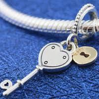 Pandora Heart Key Charm NZ