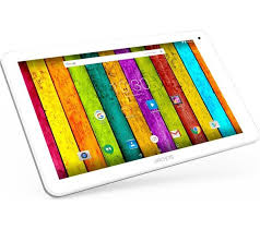 <b>ARCHOS 101e Neon</b> 10.1in Tablet - <b>16 GB</b> White & Grey Android ...