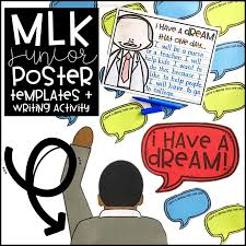 blog the inspired apple teachers celebrate martin luther king jr this class poster and matching writing