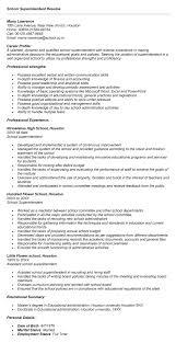 superintendent resume   sales   superintendent   lewesmrsample resume  school superintendent resume format