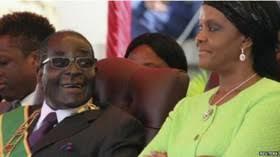 Image result for همسر موگابه با کودتا قدرت را در زیمبابوه به دست گرفت