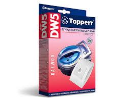 <b>Пылесборники бумажные DW</b> 5 5шт 1 микрофильтр для Daewoo ...