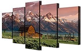 5 Piece Canvas Wall Art - Amazon.ca