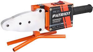 <b>Аппарат для сварки пластиковых</b> труб Patriot PW 205 - купить ...