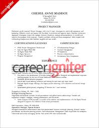 project manager resume sample   career igniterproject manager resume sample