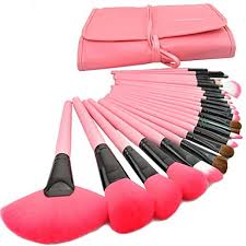 <b>24pcs</b> Makeup Brushes Professional Makeup Brush <b>Set</b> Goat <b>Hair</b> ...