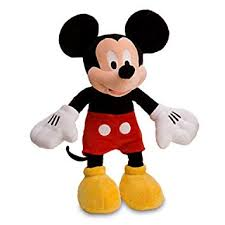 <b>Disney Mickey Mouse</b> Plush Toy -- 17'': Amazon.co.uk: Toys & Games