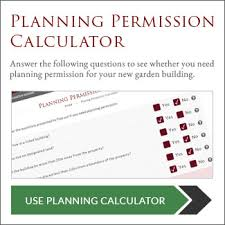 Planning Permission For Garden BuildingsPlanning Permission