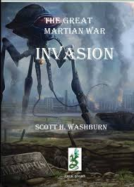 war of the worlds the anglo martian war of dark osprey the great martian war invasion