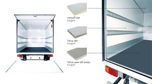 design composite gmbh commercial vehicles the sandwich panels of the top series are especially favoured for courier parcel and express services trucks as well as for similar vehicles roof wall