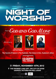 christian media in ia  the redeemed christian church of god joshuaville parish presents night of worship 2012 16 2012