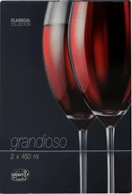 <b>Набор бокалов</b> для вина <b>CRYSTALEX Grandioso</b> 450 мл – купить ...