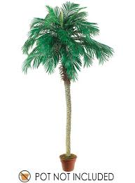 Set of 2 <b>Artificial Phoenix Palm Trees</b> 8' - Walmart.com - Walmart.com