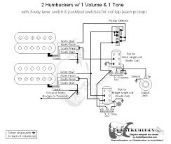 guitar wiring diagram humbucker wiring diagram wiring diagram 2 humbucker volume 1 tone the