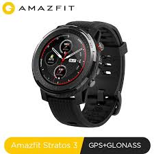 <b>Global Version New Amazfit</b> Stratos 3 Smart GPS 5ATM Bluetooth ...