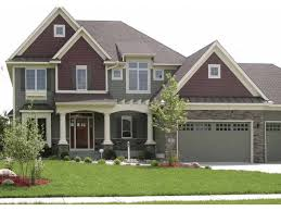 Craftsman House Plan   Square Feet and Bedrooms from    Front